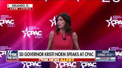 Gov. Kristi Noem torches Fauci during emotional CPAC speech  FULL