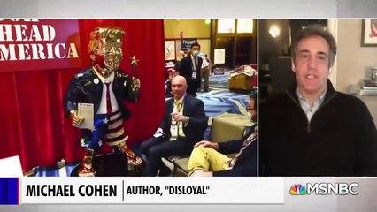 "Michael Cohen The Former President ""Actually Thinks He's Like a God. Like a Pagan God."""