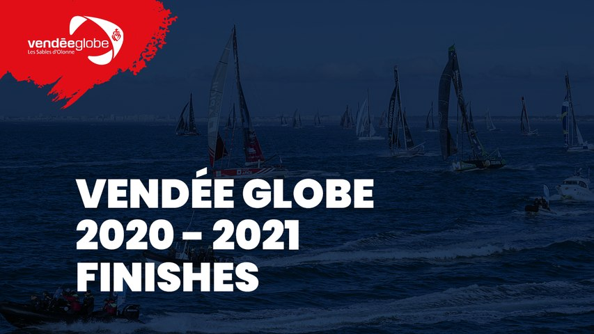 Live Finish + Ascent of the channel Alexia Barrier Vendée Globe 2020-2021 [EN]
