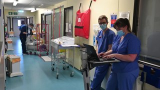 Inside Edinburgh's Covid wards at the Regional Infectious Diseases Unit