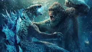 Godzilla vs. Kong - Aquatic Fight Scene Clip -  2021