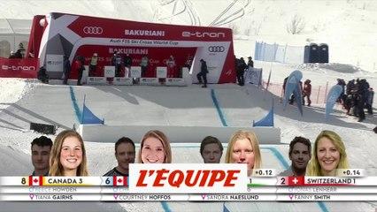 La Suisse victorieuse par équipe - Skicross - CM