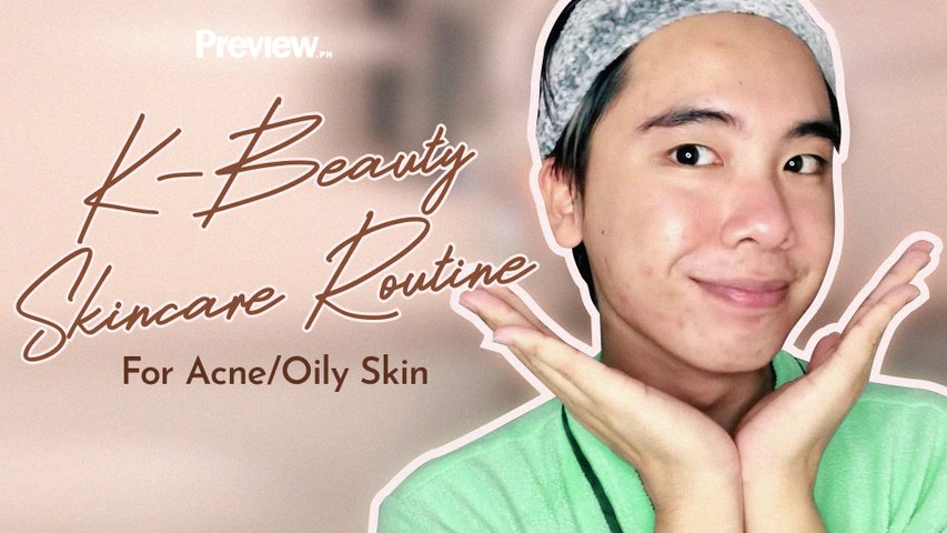 The K-Beauty Nighttime Skincare Routine for Oily Acne-Prone Skin | Beauty Basics | PREVIEW