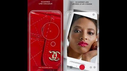 ✅  Chanel lance une application de maquillage révolutionnaire
