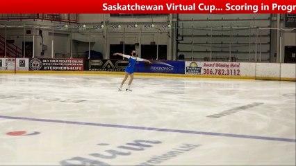 Pre Novice Women Free - Saskatchewan Virtual Cup (12)