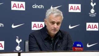 Jose Mourinho post Burnley