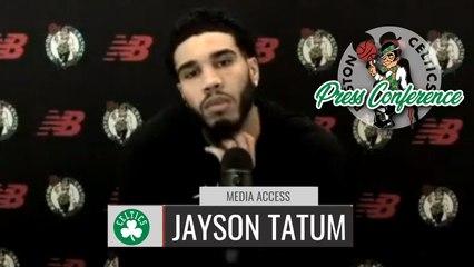 Jayson Tatum Pregame Interview | Celtics vs Wizards