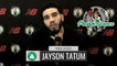 Jayson Tatum Pregame Interview   Celtics vs Wizards