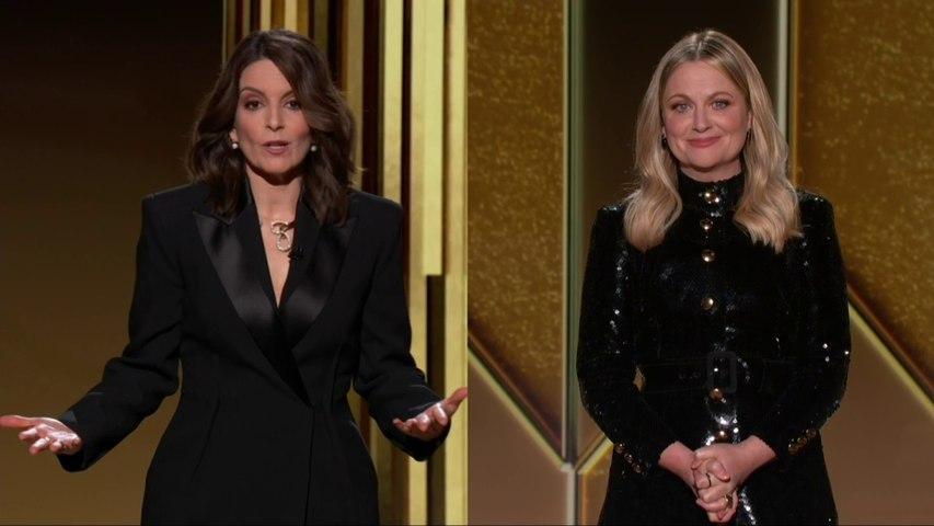 L'ouverture de la cérémonie des Golden Globes 2021 par Tina Fey et Amy Poehler