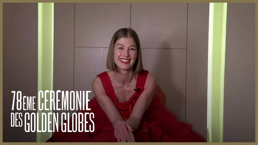 Rosamund Pike - Meilleure actrice dans une comédie (I Care A Lot) - Golden Globes 2021