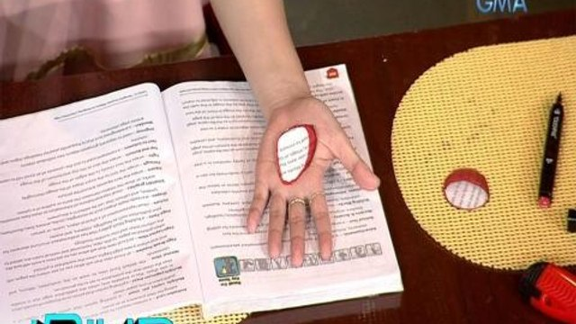 iBilib: The magic behind the 'hole in hand illusion' trick
