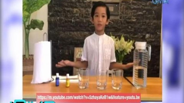 iBilib: Walking water experiment by Sean Egbert Abogado | iBiliber Of The Week
