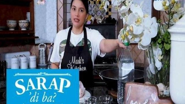 Sarap, 'Di Ba?: Tanya Garcia shares her 'Pinaupong Manok' recipe | Bahay Edition