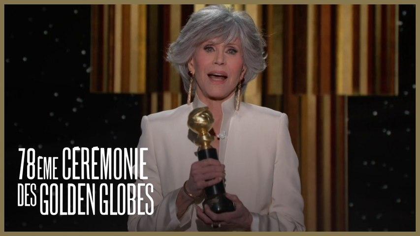 Jane Fonda remporte le Cecil B. DeMille Award en honneur à sa carrière - Golden Globes 2021