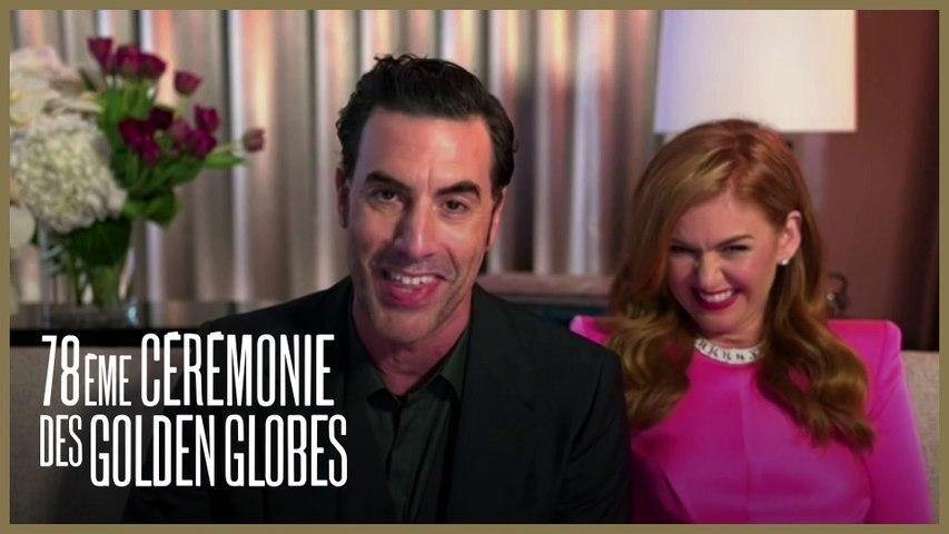 Sacha Baron Cohen - Meilleur acteur dans un film de comédie pour Borat 2 - Golden Globes 2021
