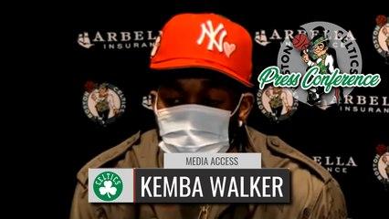 Kemba Walker Postgame Interview | Celtics vs. Wizards