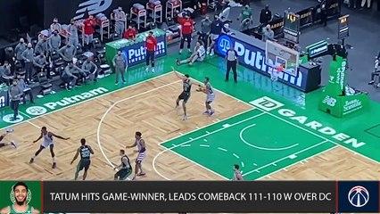 How Jayson Tatum and the Celtics BEAT the Wizards
