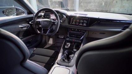Der Audi e-tron GT - Interieur - sportlich und luxuriös-komfortabel
