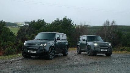 Der Land Rover Defender in Kürze