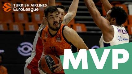 MVP for February: Nikola Kalinic, Valencia Basket