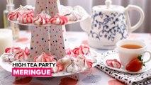 High tea party: Meringue
