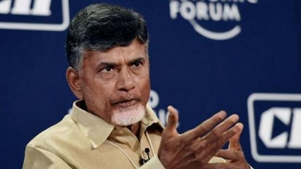 TDP chief Chandrababu Naidu stages protest at Tirupati airport, detained | Ground Report