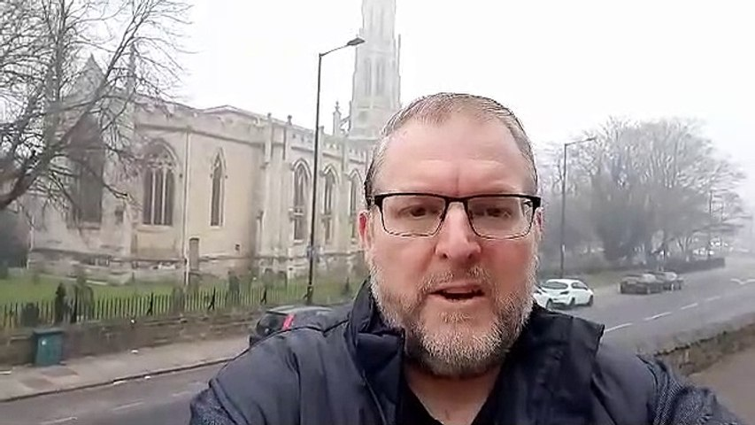Darren Burke, reporter video, March 1