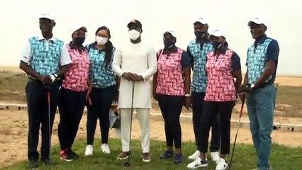Golf: Homéky aux côtés de Michel Awunou, donne le top du tournoi AOM