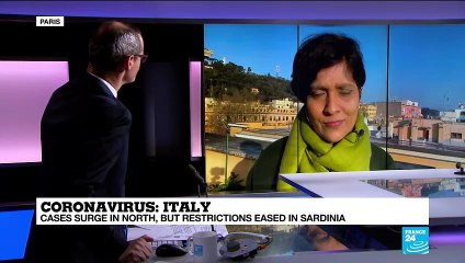 Coronavirus pandemic: Italy's Sardinia to open up as infections fall