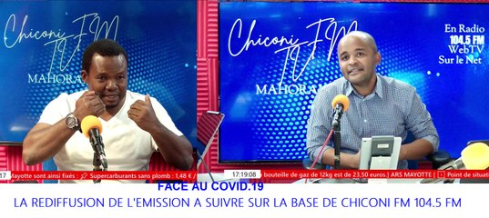Chiconi FM TV - Avec A. Fahade parlons des rites funéraires islamiques face au Covid-19 à Mayotte.