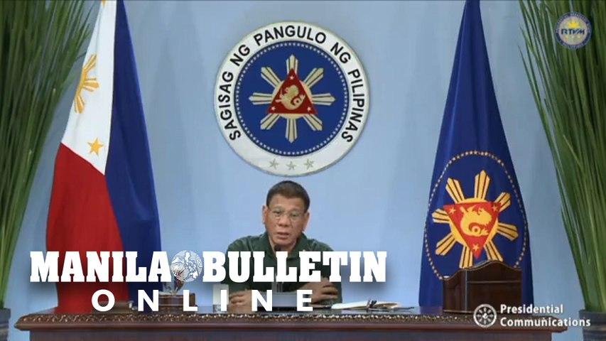 ICYMI: President Duterte addresses the nation on March 1, 2021