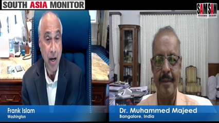 Frank Islam in conversation with Dr Muhammed Majeed  | Washington Calling