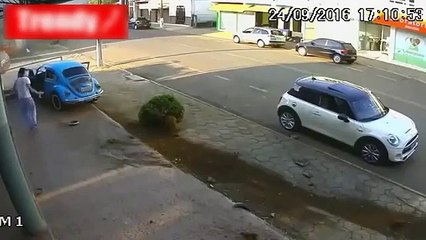 A moment of shock on Security Cameras