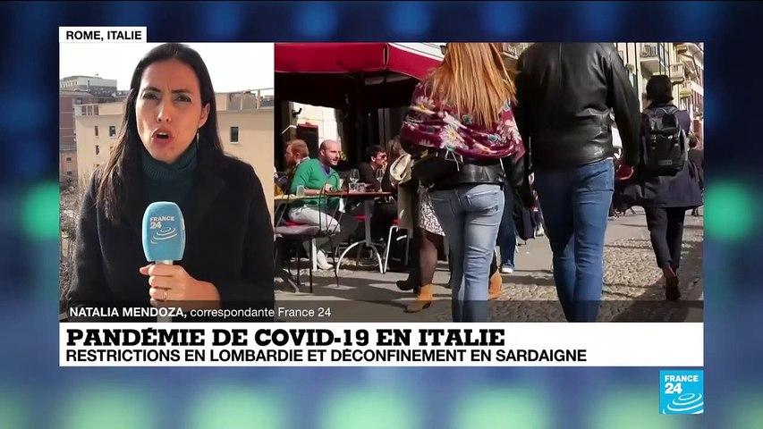 Covid-19 en Italie : restrictions en Lombardie et déconfinement en Sardaigne