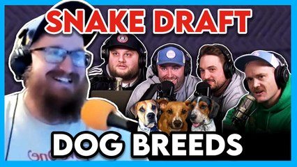 Dog Breed Draft (ft. Uncle Chaps): Are The Top 3 Dog Breed Picks Unanimous?