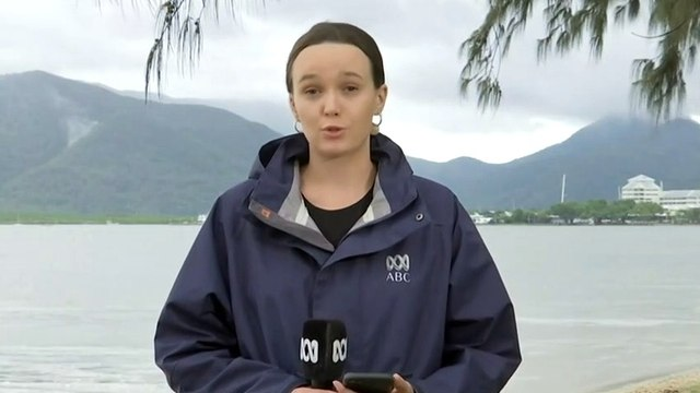 Tropical storm brings severe weather to North Queensland