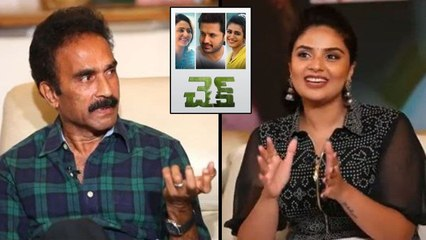 Actor Sai Chand About His Prepration For His Role In Check