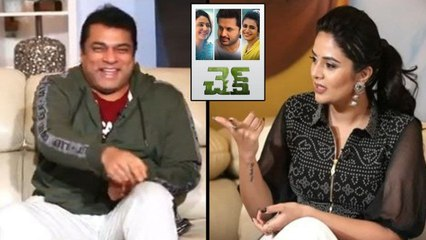 Nithin And Check Cast Hilarious Interview With Srimukhi
