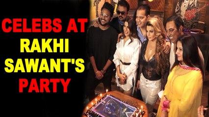 Rakhi Sawant hosts party for Bigg Boss 14 contestants