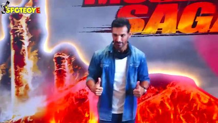John Abraham at Mumbai Saga trailer launch: If I am trending, I know I am a joke
