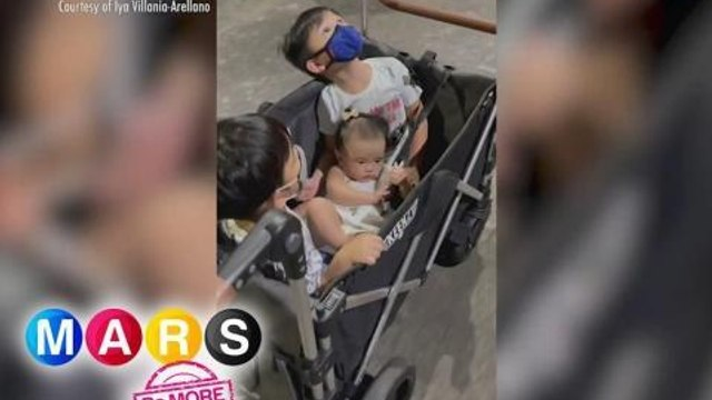 Mars Pa More: Arellano kids goes on a quick stroll in a wagon! | Mars Sharing Group