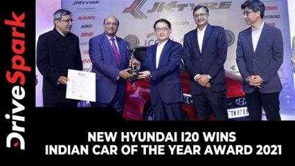 New Hyundai i20 Wins Indian Car Of The Year Award 2021 | ICOTY 2021 | Details