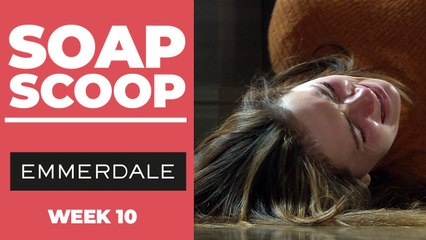 Emmerdale Soap Scoop - Gabby collapses in front of Jamie