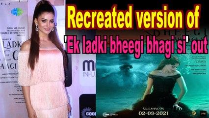 Urvashi Rautela recreates Madhubala's magic in 'Ek ladki bheegi bhagi si'