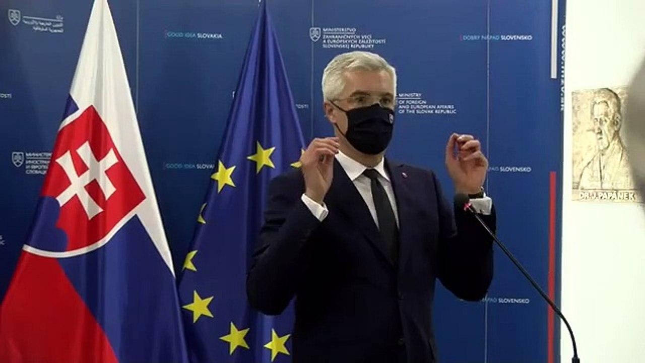 ZÁZNAM: Minister zahraničných vecí I. Korčok k  zahraničnopolitickým súvislostiam dovozu vakcíny Sputnik V