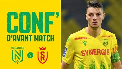 Replay : Andrei Girotto en conférence de presse avant FC Nantes - Stade de Reims