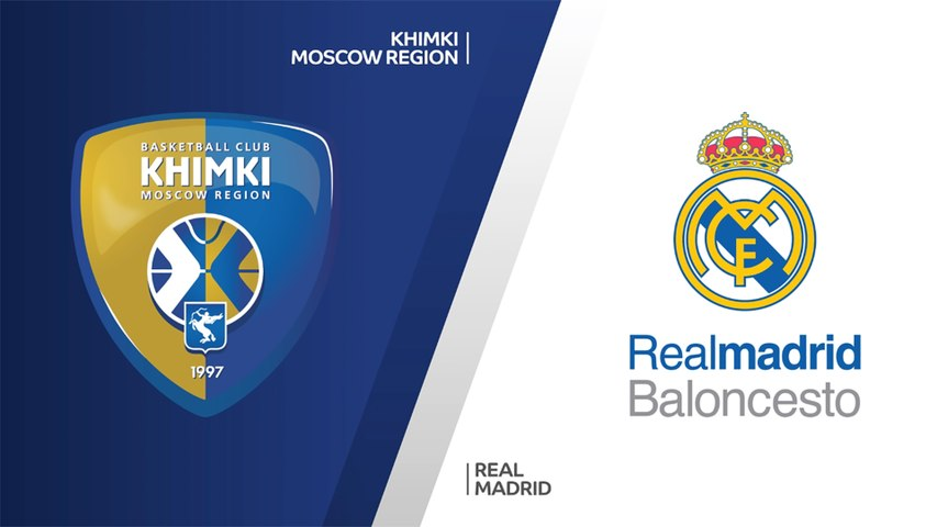 Khimki Moscow Region - Real Madrid Highlights | EuroLeague, RS Round 27