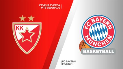 EuroLeague 2020-21 Highlights Regular Season Round 27 video: Zvezda 76-78 Bayern