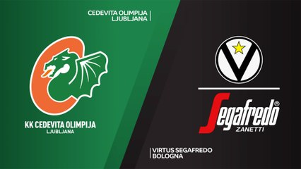 7Days EuroCup Highlights Top 16, Round 5: Olimpija 98-108 Virtus