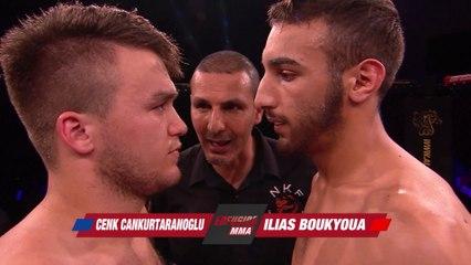 Ilias Boukyoua vs Cenk Cankurtanarogly - Full Fight Enfusion MMA
